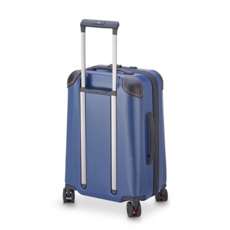 چمدان-دلسی-مدل-cactus-آبی-218080102-نمای-سه-رخ-از-پشت