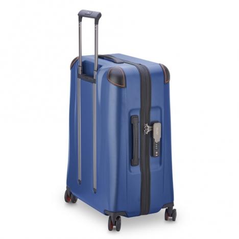 چمدان-دلسی-مدل-cactus-آبی-218082002-نمای-سه-بعدی-پشت-از-چپ