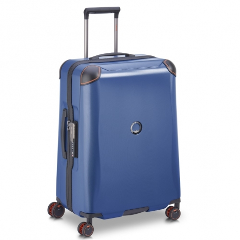 چمدان-دلسی-مدل-cactus-آبی-218082002-نمای-سه-بعدی-از-چپ