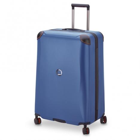 چمدان-دلسی-مدل-cactus-آبی-218082102-نمای-سه-رخ-از-راست