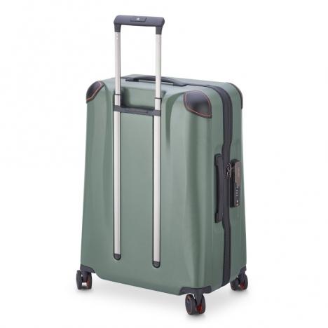 چمدان-دلسی-مدل-cactus-زیتونی-218082003-نمای-سه-رخ-پشت-از-چپ
