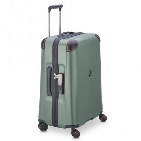 چمدان-دلسی-مدل-cactus-زیتونی-218082003-نمای-کناری
