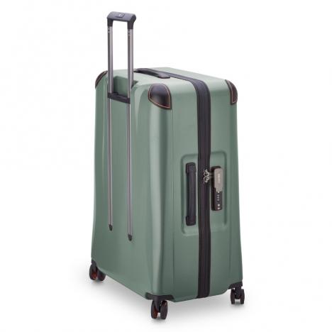 چمدان-دلسی-مدل-cactus-زیتونی-218082103-نمای-سه-رخ-پشت-از-چپ