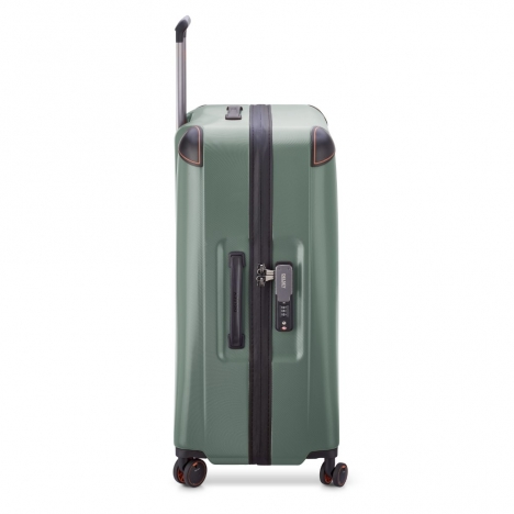 چمدان-دلسی-مدل-cactus-زیتونی-218082103-نمای-کناری