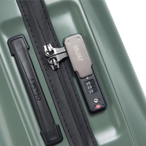 چمدان-دلسی-مدل-cactus-زیتونی-218082103-نمای-زیپ