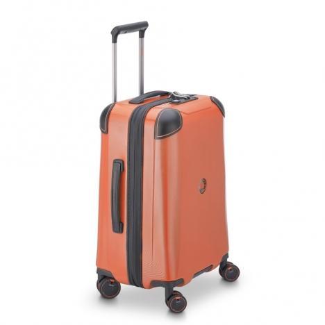 چمدان-دلسی-مدل-cactus-نارنجی-218080125-نمای-سه-بعدی-از-چپ