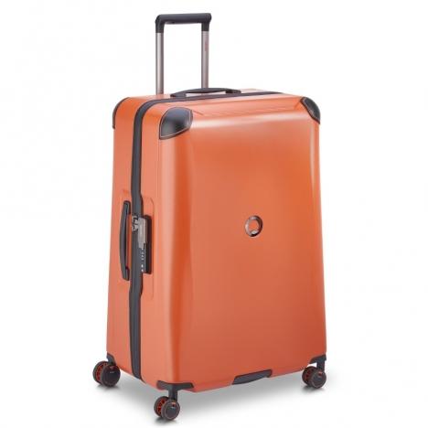 چمدان-دلسی-مدل-cactus-نارنجی-218082125-نمای-سه-رخ-از-چپ