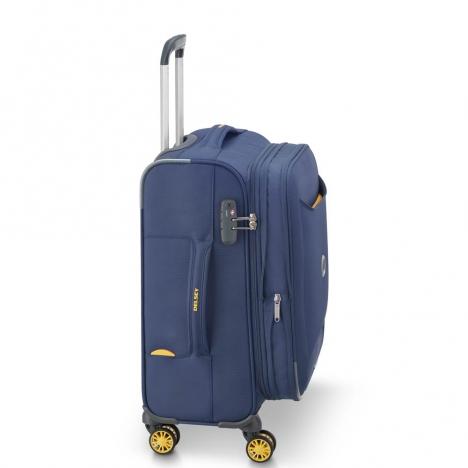 چمدان-دلسی-مدل-chartreuse-آبی-367380102-نمای-کناری
