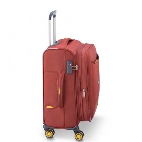 چمدان-دلسی-مدل-chartreuse-قرمز-367380104-نمای-کناری