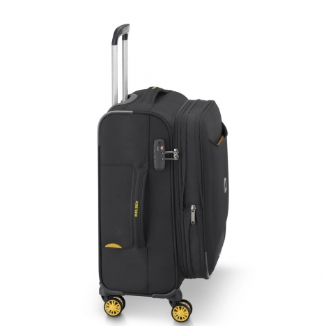 چمدان-دلسی-مدل-chartreuse-مشکی-367380100-نمای-کناری