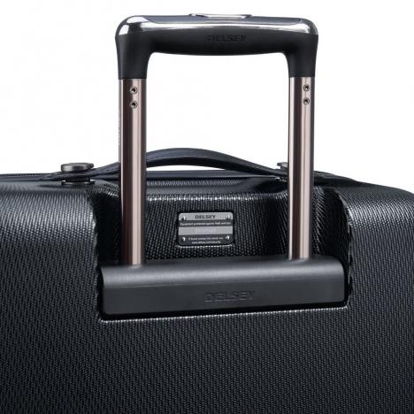 چمدان-دلسی-مدل-chatelet-air-مشکی-167281000-نمای-پشت-دسته-چمدان