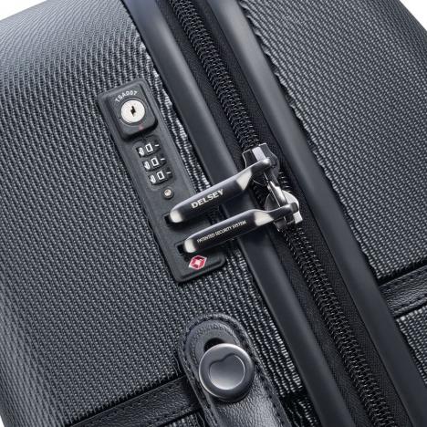 چمدان-دلسی-مدل-chatelet-air-مشکی-167281000-نمای-زیپ