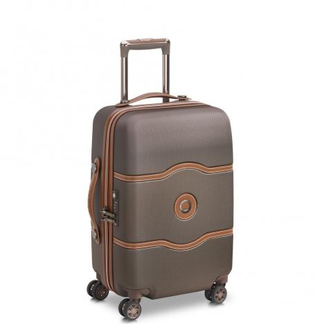 چمدان-دلسی-مدل-chatelet-air-شکلاتی-167280106-نمای-سه-رخ