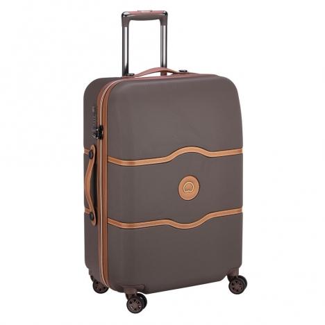 چمدان-دلسی-مدل-chatelet-air-شکلاتی-167281006-نمای-سه-رخ