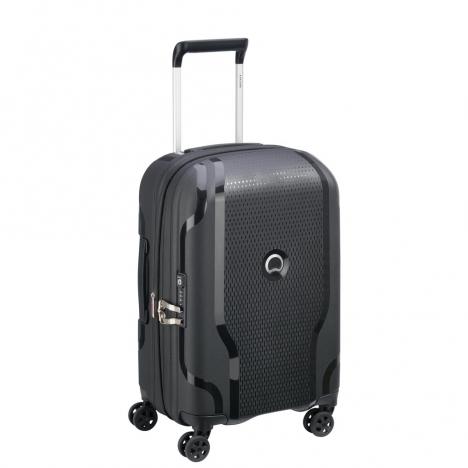 چمدان-دلسی-مدل-clavel-مشکی-384580100-نمای-سه-رخ