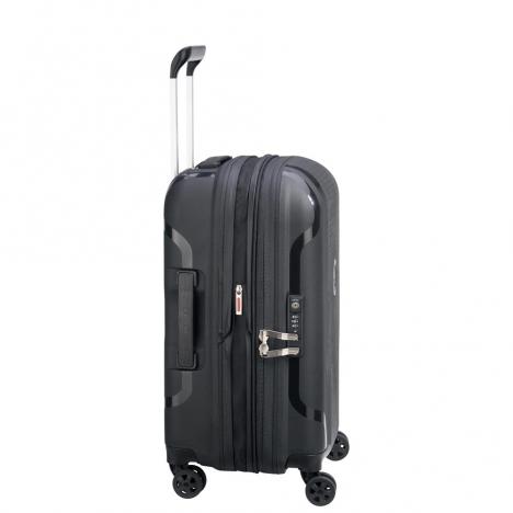 چمدان-دلسی-مدل-clavel-مشکی-384580100-نمای-کنار