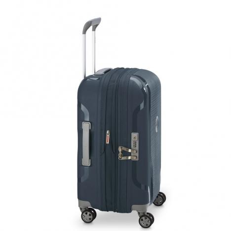 چمدان-دلسی-مدل-clavel-آبی-384580102-نمای-کناری