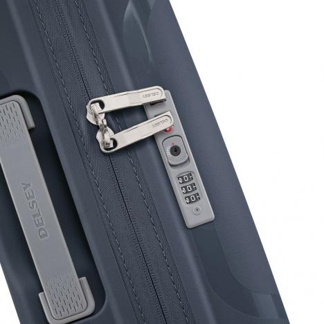 چمدان-دلسی-مدل-clavel-آبی-384580102-نمای-زیپ