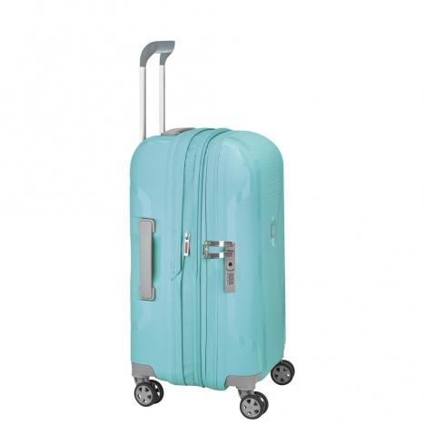 چمدان-دلسی-مدل-clavel-آبی-384580122-نمای-کناری