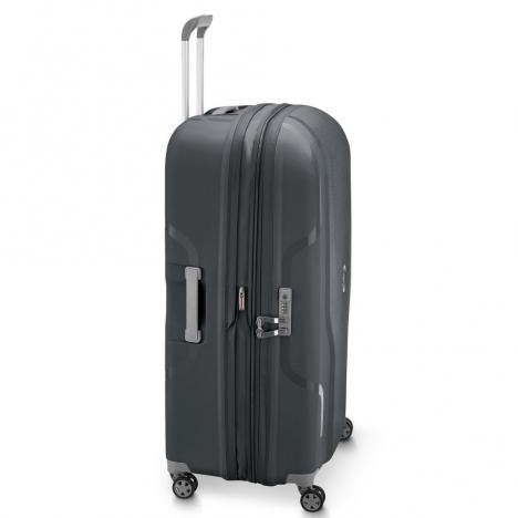 چمدان-دلسی-مدل-clavel-خاکستری-384583011-نمای-کناری