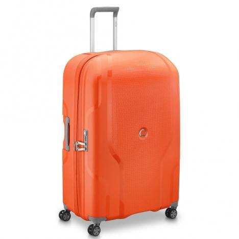 چمدان-دلسی-مدل-clavel-نارنجی-384583014-نمای-سه-رخ
