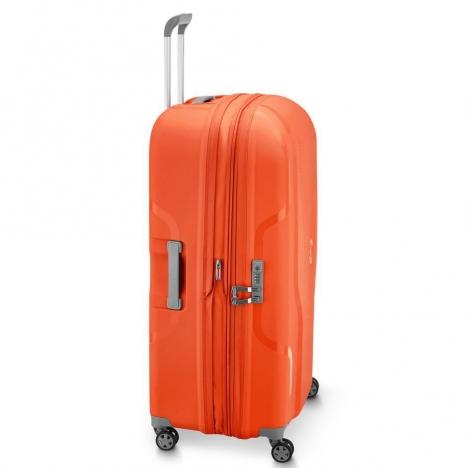 چمدان-دلسی-مدل-clavel-نارنجی-384583014-نمای-کناری