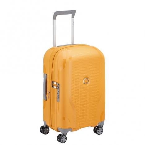 چمدان-دلسی-مدل-clavel-زرد-384580105-نمای-سه-رخ