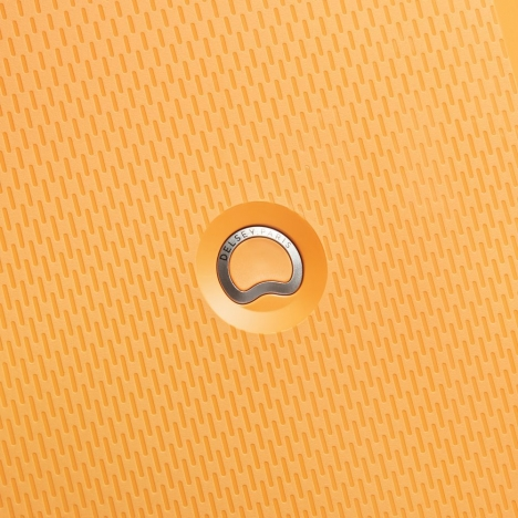 چمدان-دلسی-مدل-clavel-زرد-384580105-نمای-لوگو-دلسی