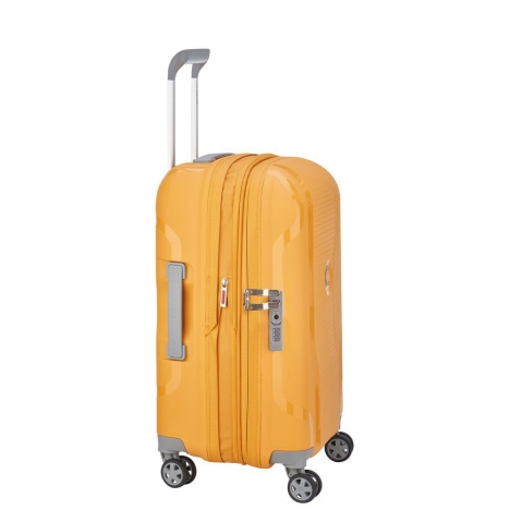 چمدان-دلسی-مدل-clavel-زرد-384580105-نمای-کناری
