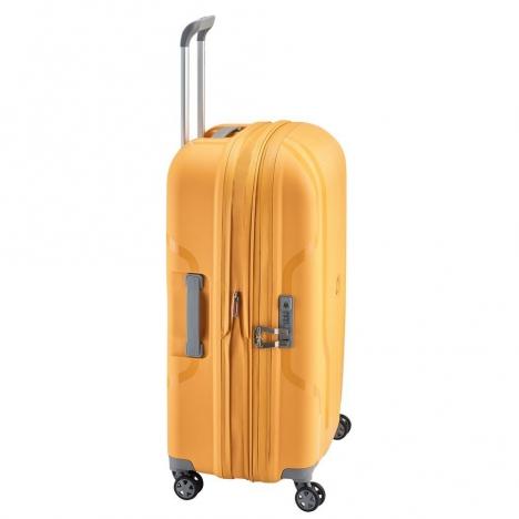 چمدان-دلسی-مدل-clavel-زرد-384582005-نمای-کنار