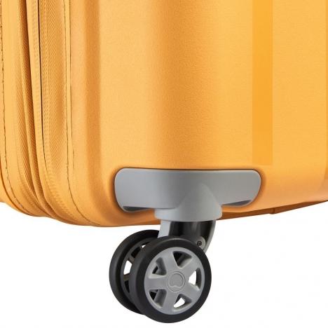 چمدان-دلسی-مدل-clavel-زرد-384582005-نمای-چرخ