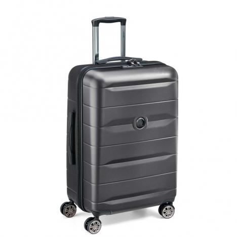 چمدان-دلسی-مدل-comete-plus-مشکی-304181000-نمای-سه-رخ