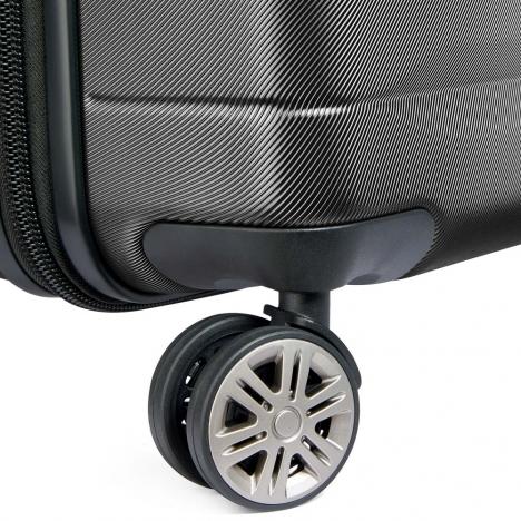 چمدان-دلسی-مدل-comete-plus-مشکی-304181000-نمای-چرخ