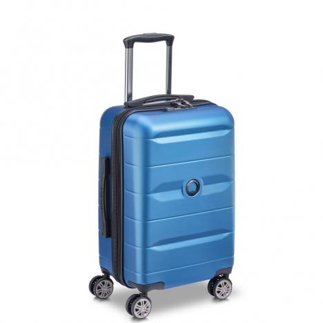 چمدان-دلسی-مدل-comete-plus-آبی-304180112-نمای-سه-رخ