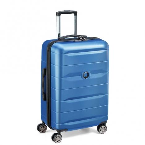 چمدان-دلسی-مدل-comete-plus-آبی-304181012-نمای-سه-رخ