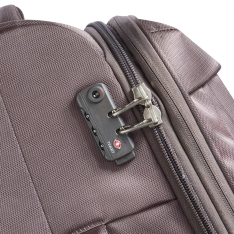 چمدان-دلسی-مدل-flight-lite-فندقی-23381026-نمای-زیپ