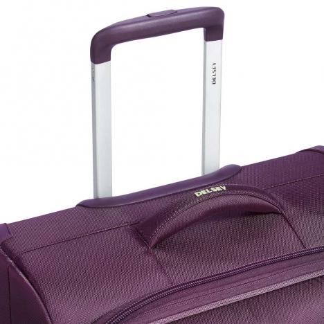 چمدان-دلسی-مدل-flight-lite-بنفش-23381008-نمای-دسته-چمدان