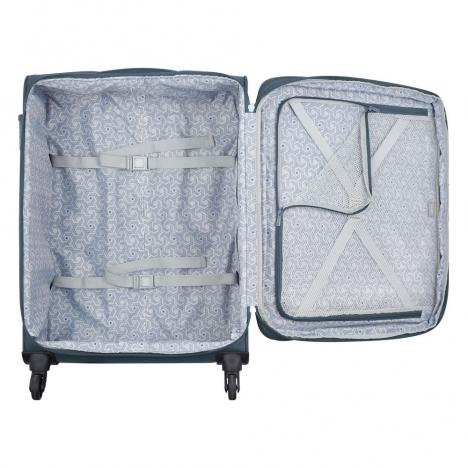 چمدان دلسی مدل 353481101 نمای داخل