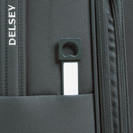 چمدان دلسی مدل 353481101 نمای زیپ