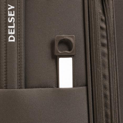 چمدان دلسی مدل 353481116 نمای زیپ