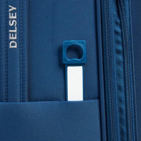 چمدان دلسی مدل 353482102 نمای زیپ