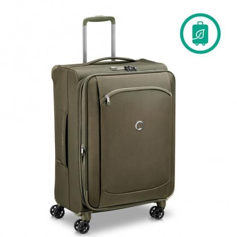 چمدان-دلسی-مدل-montmartre-air-زیتونی-235281913-نمای-سه-رخ