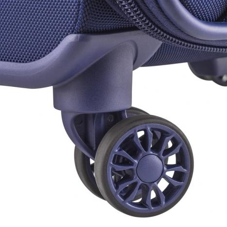 چمدان دلسی مدل 124402 نمای چرخ