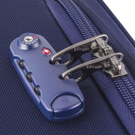 چمدان دلسی مدل 124402 نمای زیپ