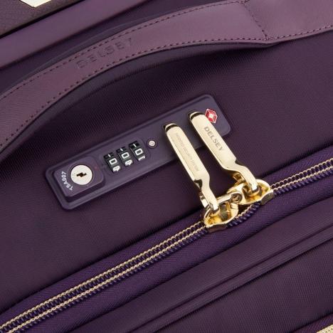 نمای نزدیک زیپ چمدان دلسی مدل montrouge - کد 201880108