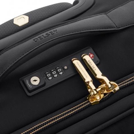 چمدان دلسی مدل 201881100 نمای قفل