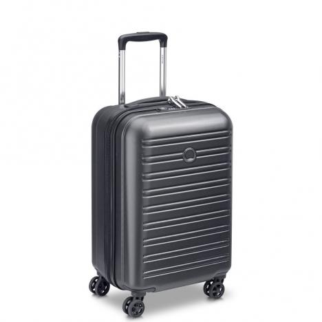 چمدان-دلسی-مدل-segur-مشکی-205880400-نمای-سه-رخ