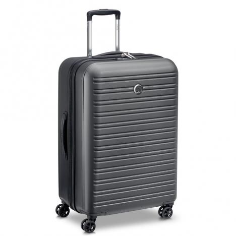 چمدان-دلسی-مدل-segur-مشکی-205882200-نمای-سه-رخ