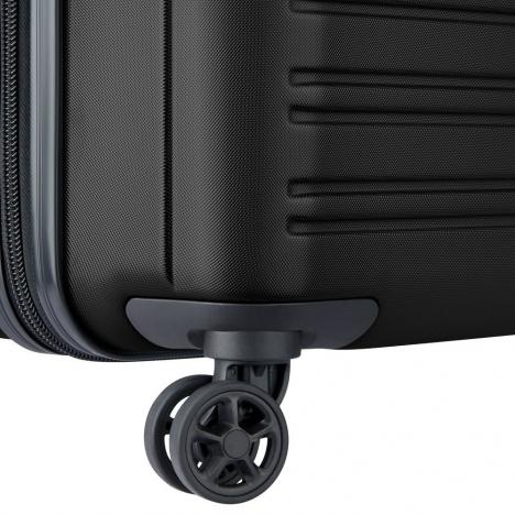 چمدان-دلسی-مدل-segur-مشکی-205882200-نمای-چرخ