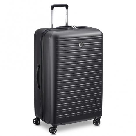 چمدان-دلسی-مدل-segur-مشکی-205883000-نمای-سه-رخ